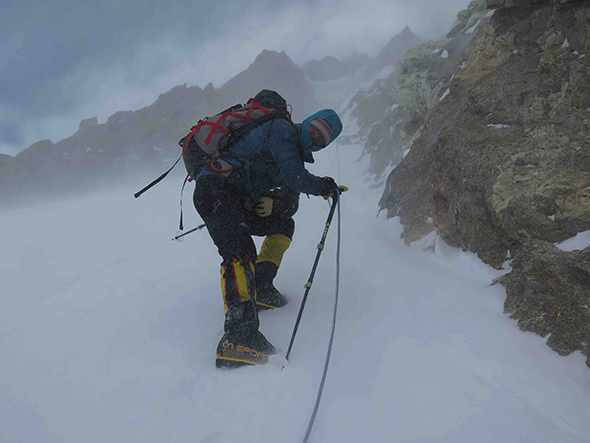"""Absolute Misery: Completing the His-toric First Winter Ascent of Nanga Par-bat, the """"Killer Mountain"""""""