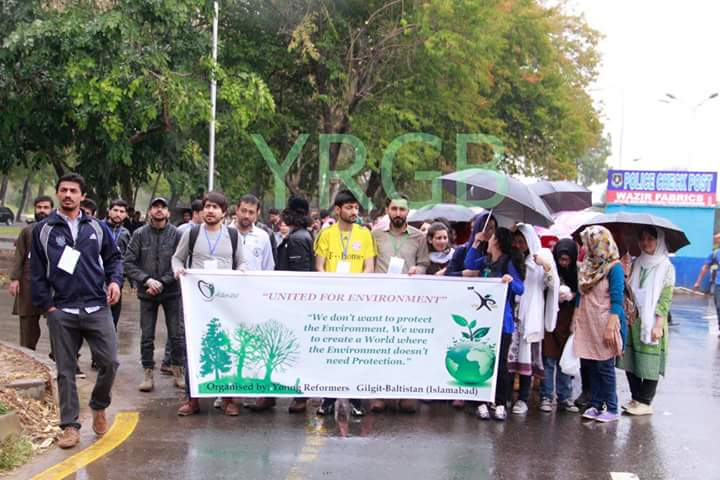 Youth gather to raise awareness about environmental protection
