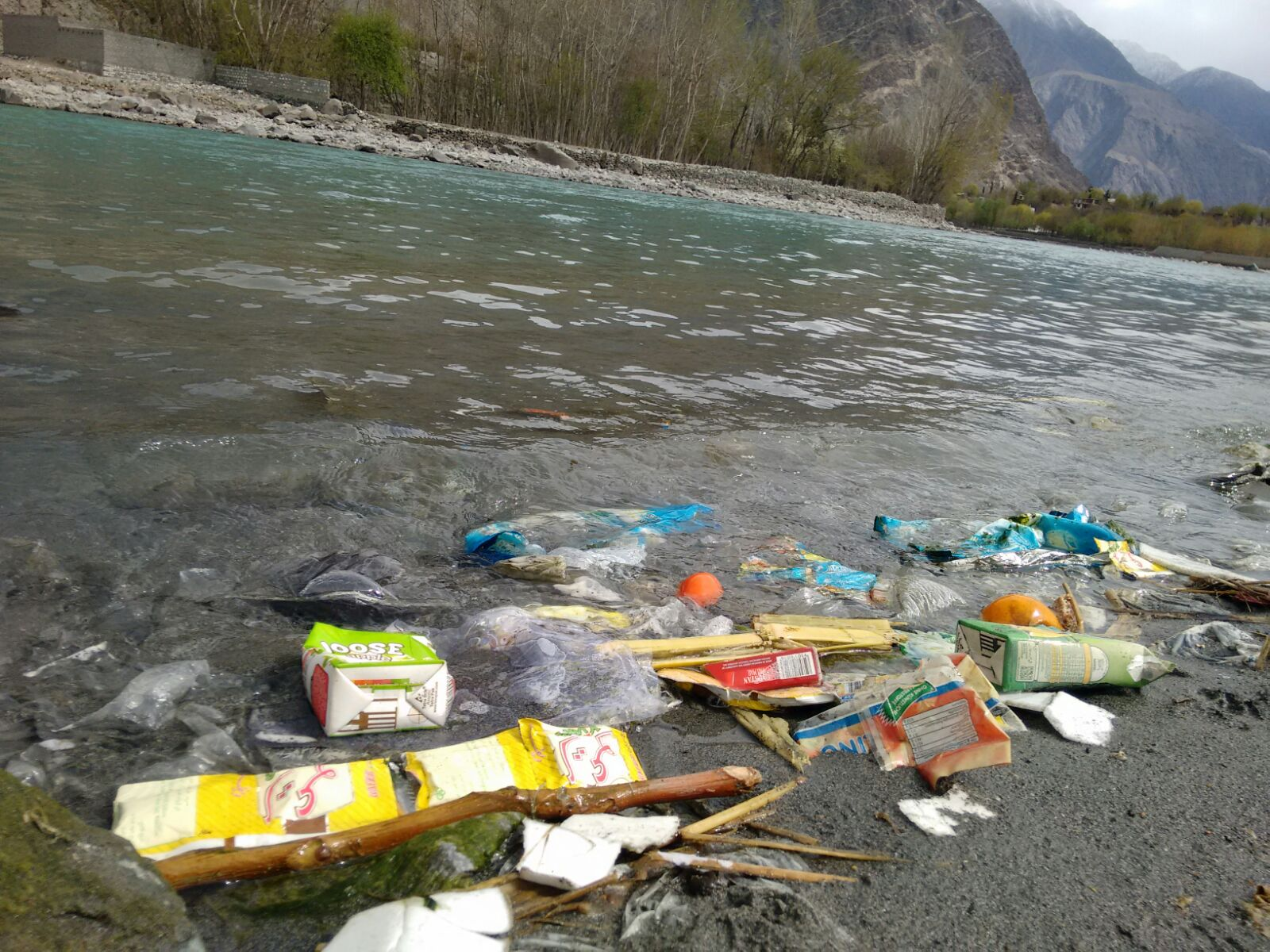 Gilgit River is getting polluted – Special report on International Day of Action for Rivers