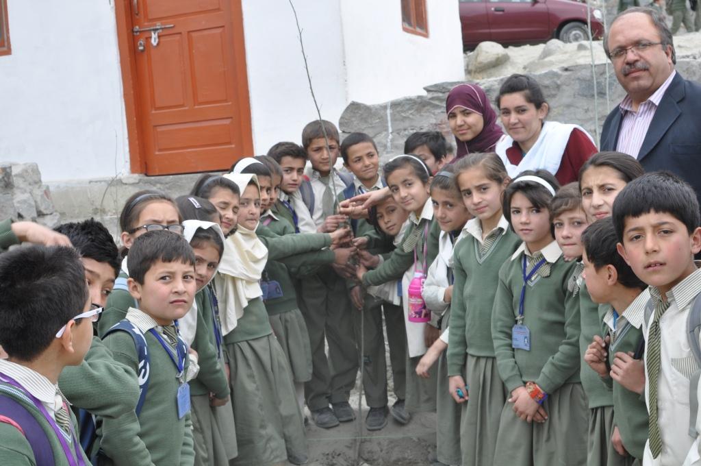 Pictorial – Tree Plantation Day at Mehnaz Fatima Montessori & Inclusive Educational Centre, Gilgit