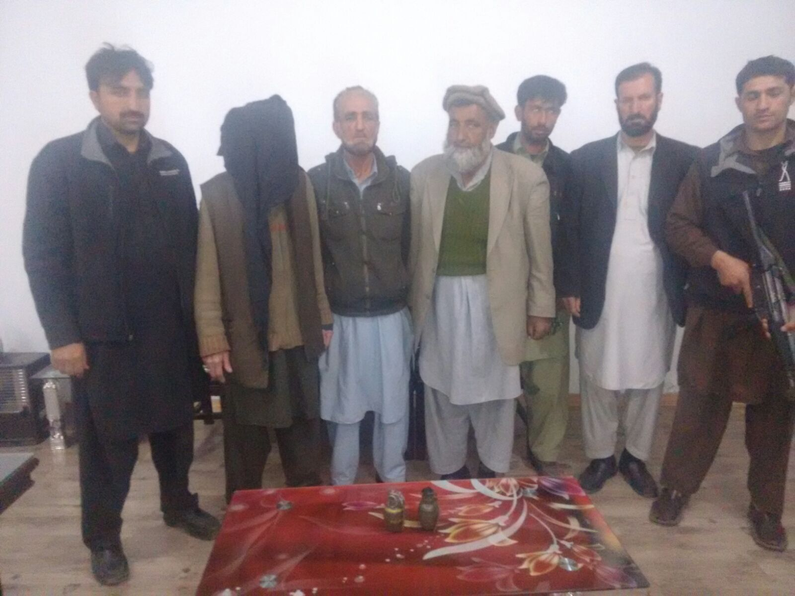 Counter Terrorism Department Gilgit arrests suspect, recovers two hand grenades