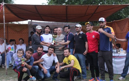 Team Ghulkin wins Gojal Premier League cricket tournament played in Islamabad
