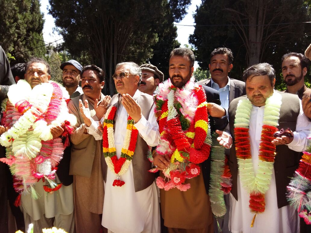 Six members of Gilgit-Baltistan Council elected