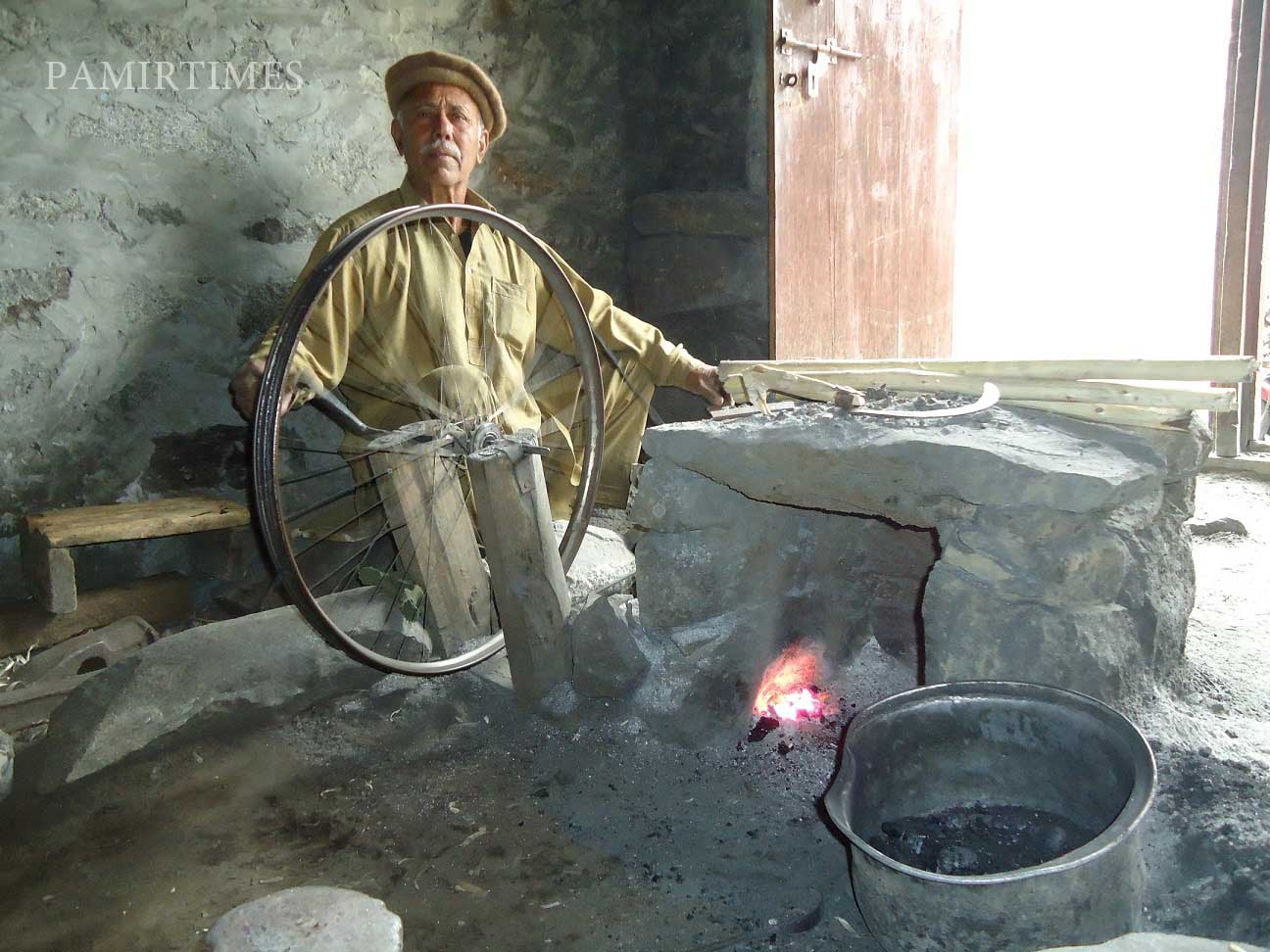 Blacksmithery: A fast fading traditional occupation in Gilgit-Baltistan