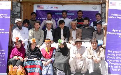Five-day workshop on Kalasha language concluded