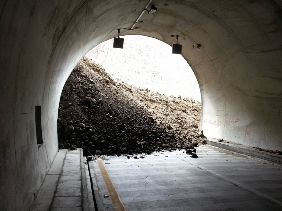 Pak-China Friendship Tunnel Complex blocked by landslide, floods