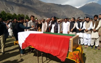 JKLF leader Amanullah Khan laid to rest in Gilgit