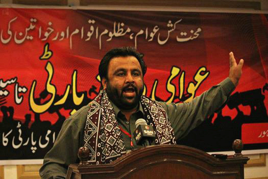 AWP leader Baba Jan allowed to contest Hunza by-elections from behind the bars