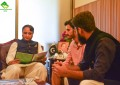 Team OEC calls on Chief Minister Hafeezur Rehman and Deputy Speaker Jafarullah in Islamabad
