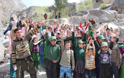 Chitral: Residents of Unauj village protest against govt for failing to repair damaged bridge