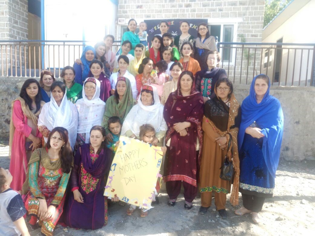 Ghulkin Youth Association celebrates Mother's Day in Gilgit