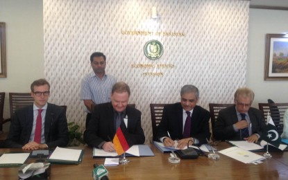 Germany provides grant worth 6 Million Euros for establishing Pakistan Glacial Monitoring Network