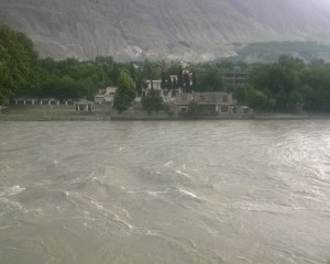 Gilgit: Settlements along riverbeds threatened due to rising water level
