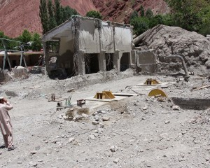 Damaged Reshun Power Station deprives 20000 households of electricity in Chitral