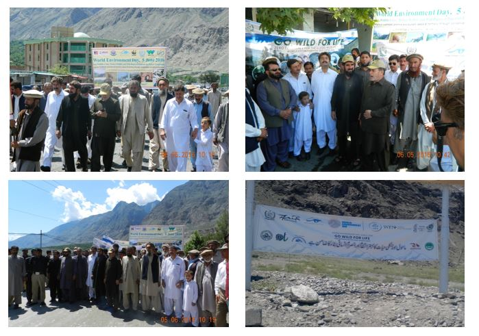 Gilgit: Strengthening of wildlife conservation measures stressed on World Environment Day