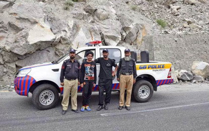 300 strong CPEC Patrol Police unit deployed in the Gilgit-Baltistan region