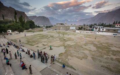Chief Secretary Gilgit-Baltistan inaugurates Skardu Municipal Library