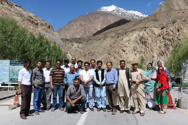 Gilgit: WWF,ICIMOD organise workshop for journalists on climate change