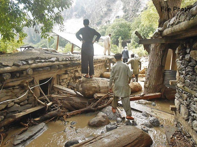 31 people feared dead after flash flood hits Arsun village of Chitral District