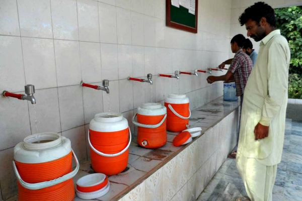 Scarcity of clean drinking water