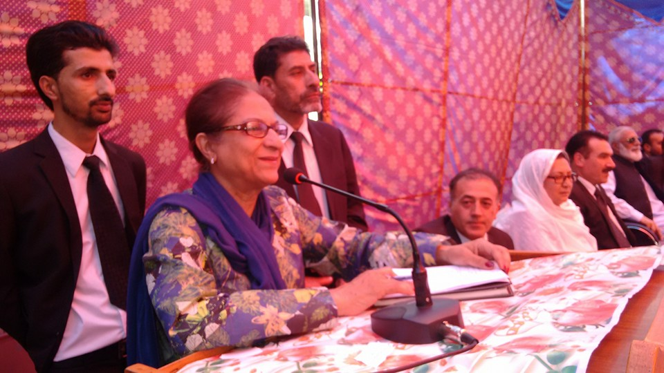 Current judicial system can't protect rights of the two million people of Gilgit-Baltistan: Asma Jahangir
