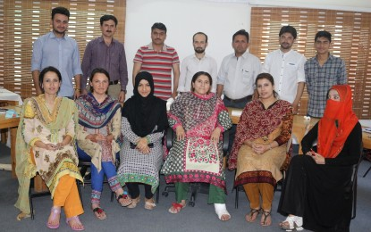 Gilgit: WWF and ICIMOD organize training on financial literacy and flood preparedness