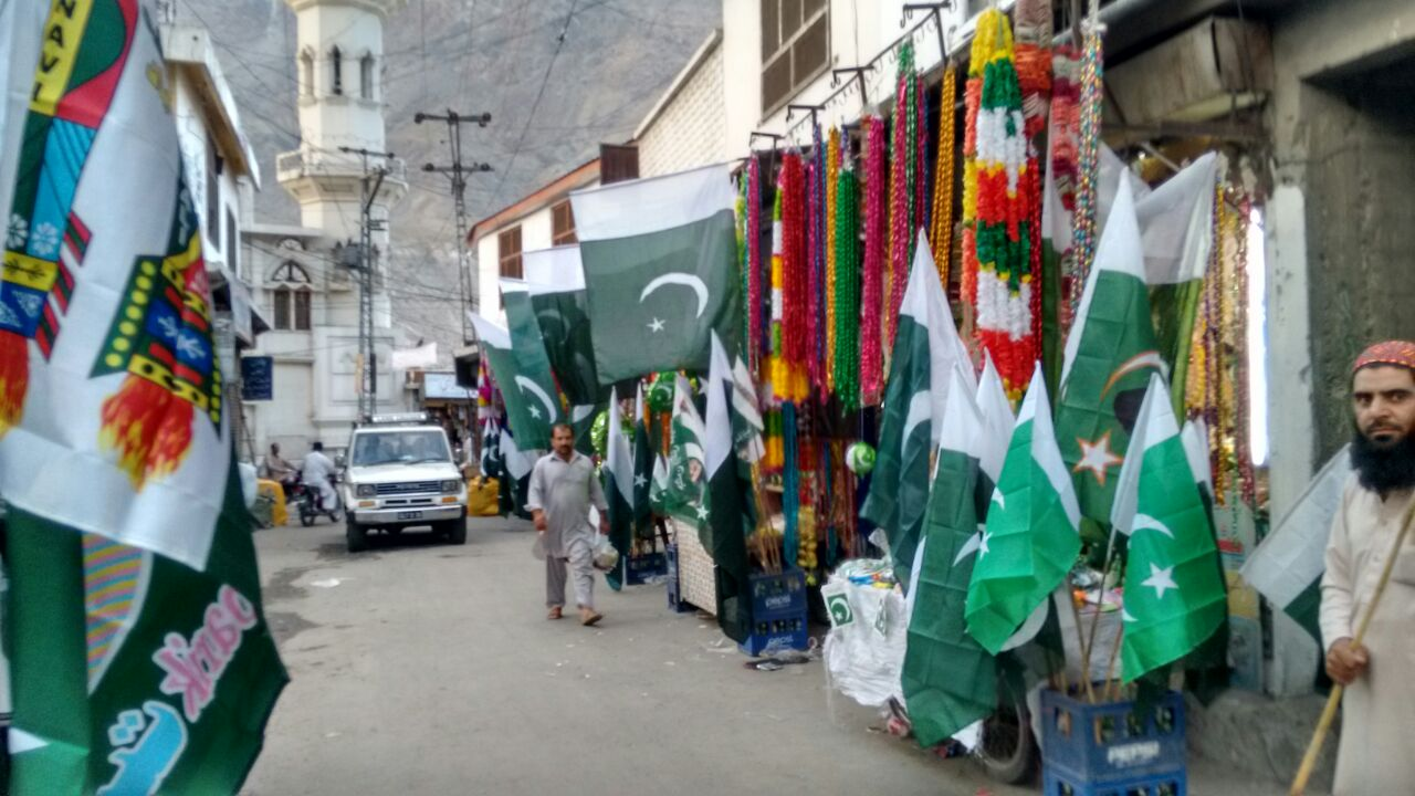 Preparations for 14th August in full swing in Gilgit-Baltistan