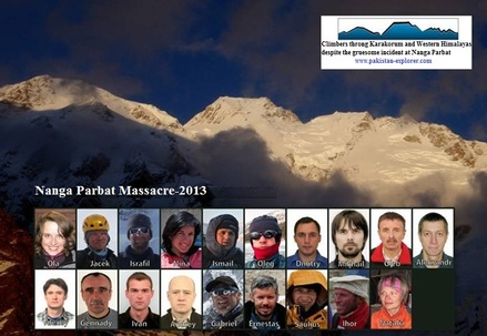 Three men involved in Nanga Parbat Massacre sent behind the bars