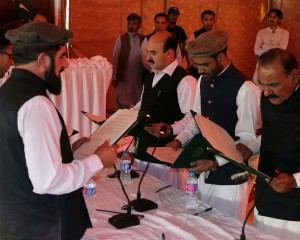 Gilgit: Five new ministers sworn in