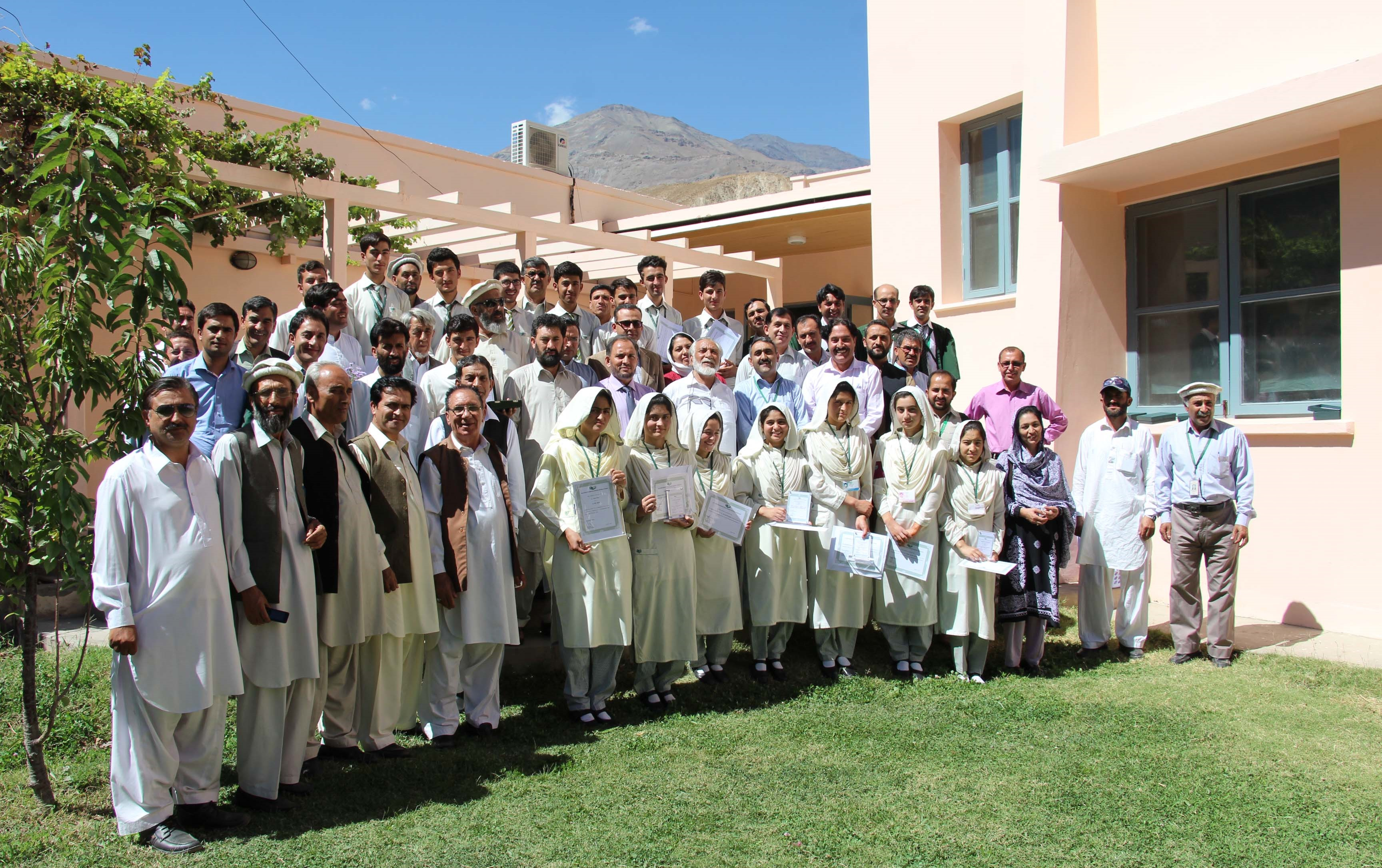 AKUEB 'High Achievers' awarded at Aga Khan Girls Higher Secondary School, Koragh