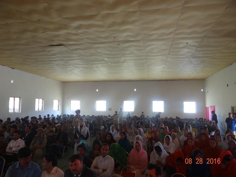 Awareness session about drug abuse held in Yasin Valleyn Ghizer