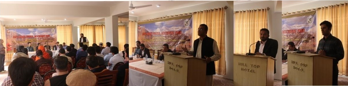 Conference held to discuss measures for prevention of motor bike accidents in Hunza
