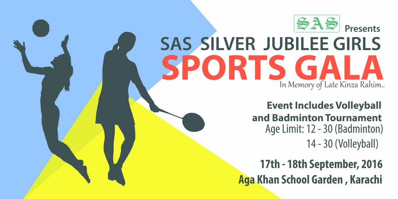 Celebrating Silver Jubilee: SAS to organize sports gala for girls and boys in Karachi