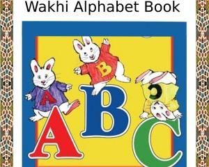 Karim Khan Saka's 'Wakhi Alphabet Book' published