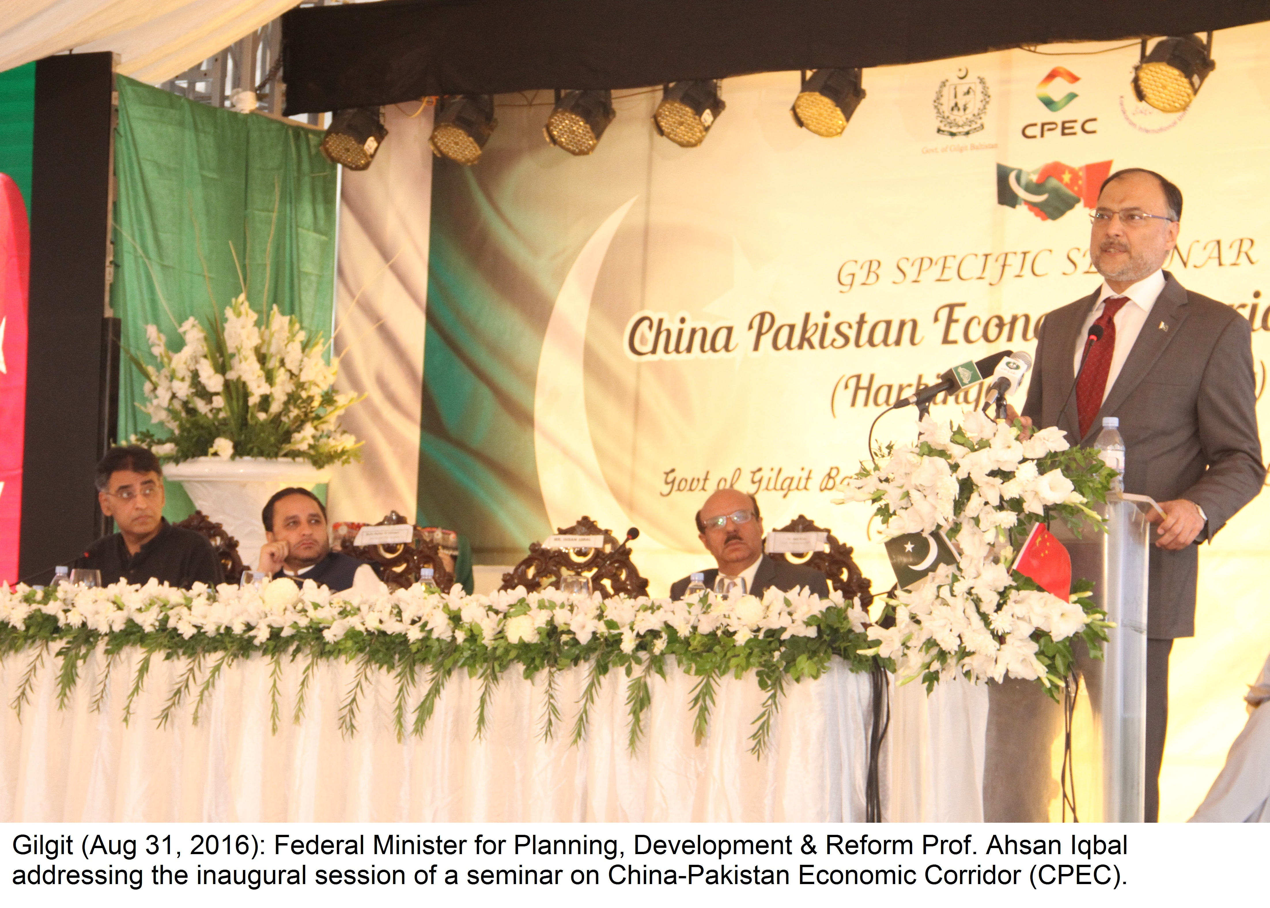 CPEC owned by 200 million Pakistanis, enemies' nefarious designs will fail: Ahsan Iqbal