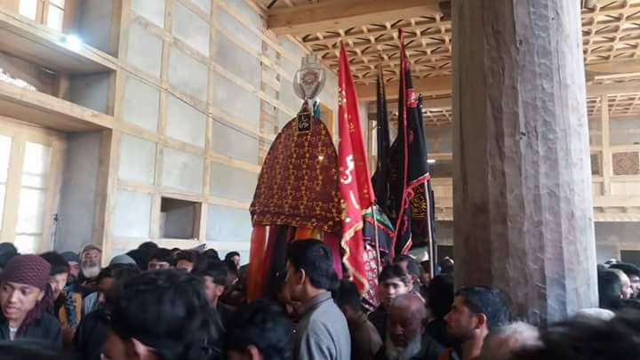 Ashura processions peacefully held in Khapulu, Ghanche