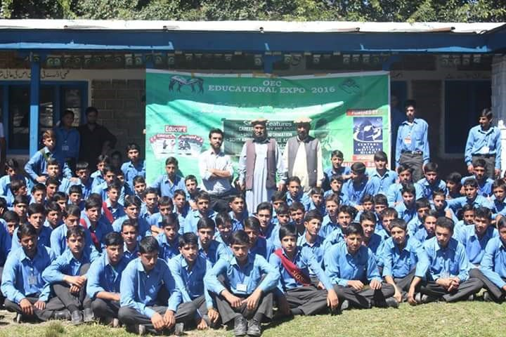 OEC organises educational expo in Astore
