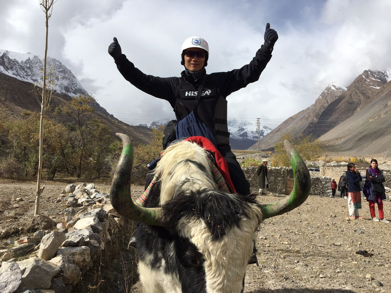 First group of Chinese tourists visits Chipursan Valley, Hunza