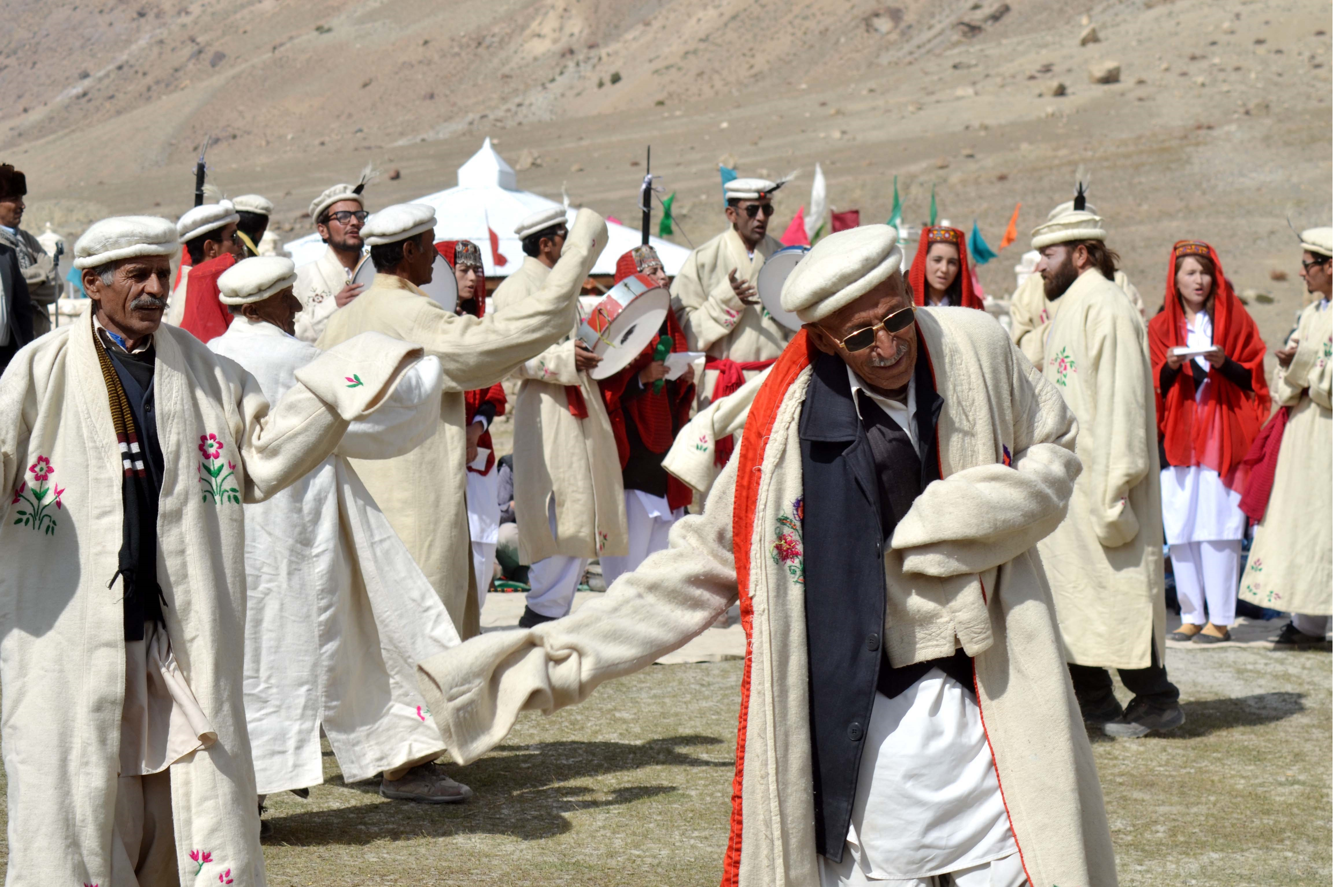 Baba Ghundi Festival held in Chipursan Valley, Gojal