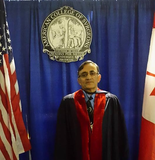 Dr. Rehman Alvi from Gilgit-Baltistan among recipients of prestigious American College of Surgeons fellowship