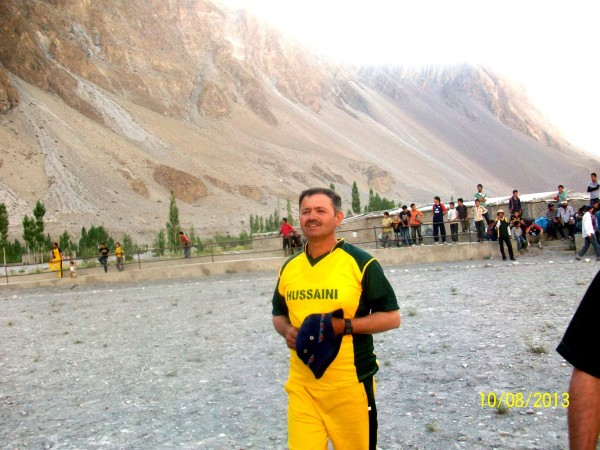 Muhammad Azam, Humera's father, is a cricket player