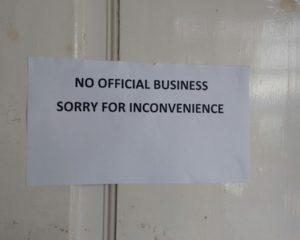 Thousands of Clerks go on strike across Gilgit-Baltistan