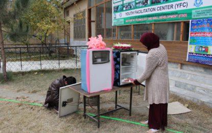 Refrigerators running on Kerosene Oil, LPG, Solar Energy, introduced in Chitral