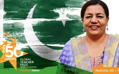 "Ms. Neelofar Ali selected for ""Global Teacher Prize"""