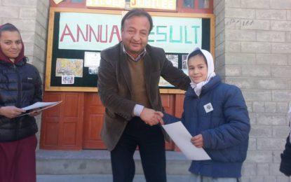 Al Amyn Model School Gulmit announces annual result 2016, with 98 pass percentage