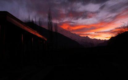 Rakaposhi Sunset