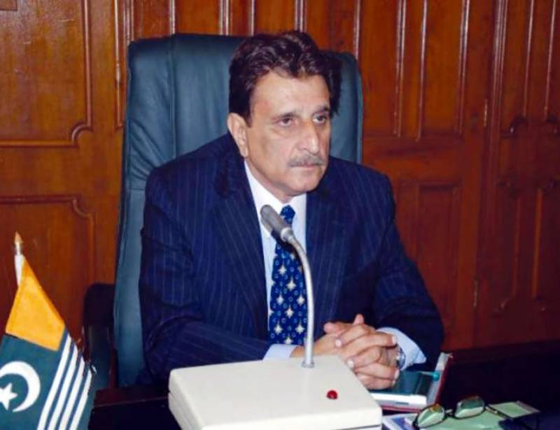 People of AJK, GB tied in deep historic relations: AJK Prime Minister Raja Farooq Haider Khan
