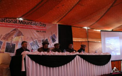 WWF and partners celebrate International Mountain Day in Gilgit
