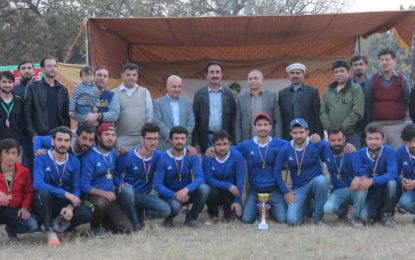 Team Ghulkin has won the Gojal Cricket League