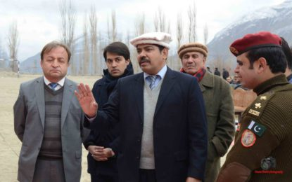 Rescue 1122 to be made functional in Hunza and Nagar before June, Secretary Home Gilgit Baltistan Ahsan Bhutta